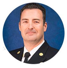 Fire Chief Fire Warden Dan Munsey