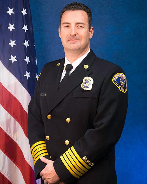 Fire Chief / Fire Warden Daniel R. Munsey