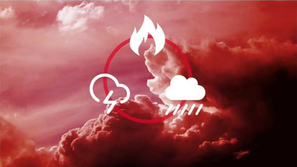 multiple weather warnings