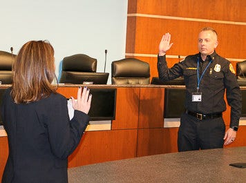 Armstrong sworn in as Victorville's new fire chief