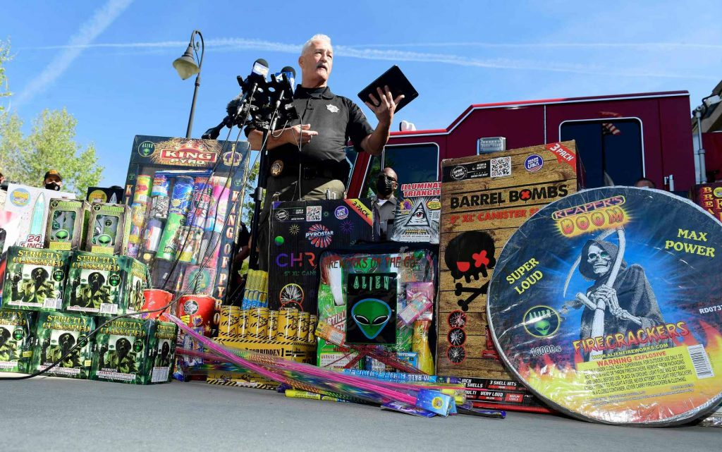 'Say something:' New online system allows reporting of illegal fireworks in San Bernardino County