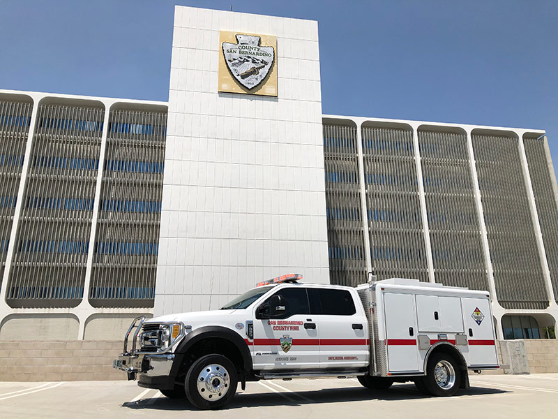 sbcfire emergency vehicle