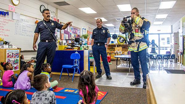 fire department preschool presentation