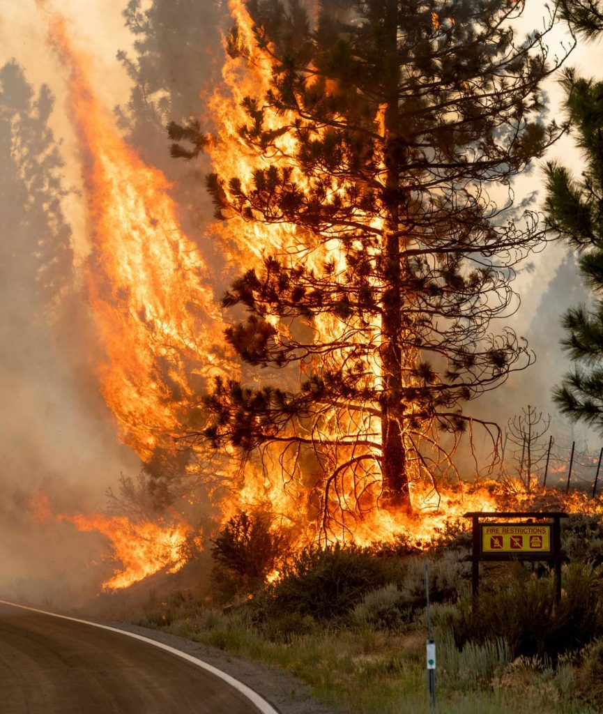 7 Northern California wildfires:
