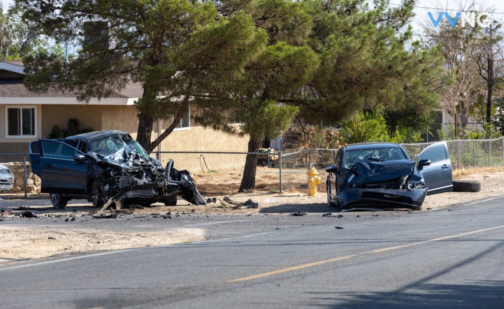 Crash leaves Hesperia man dead after 14-year-old runs stop sign