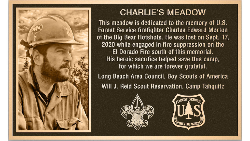 Boy Scouts erecting memorial to honor firefighter killed in El Dorado fire near their camp