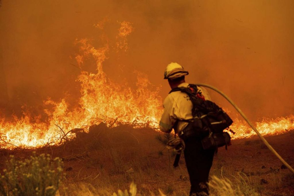 As winds calm over Caldor Fire, crews focus on trouble spots