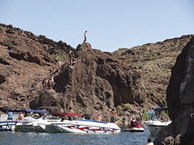 Man injured, nearly drowned after jump at Copper Canyon