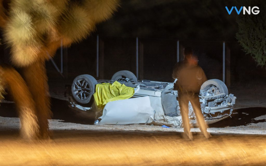 Driver killed in rollover crash along Arrowhead Lake Road in Hesperia