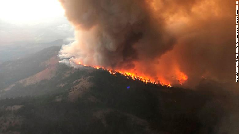 California's Dixie Fire has charred nearly a million acres and the state's fire season shows no signs of relief