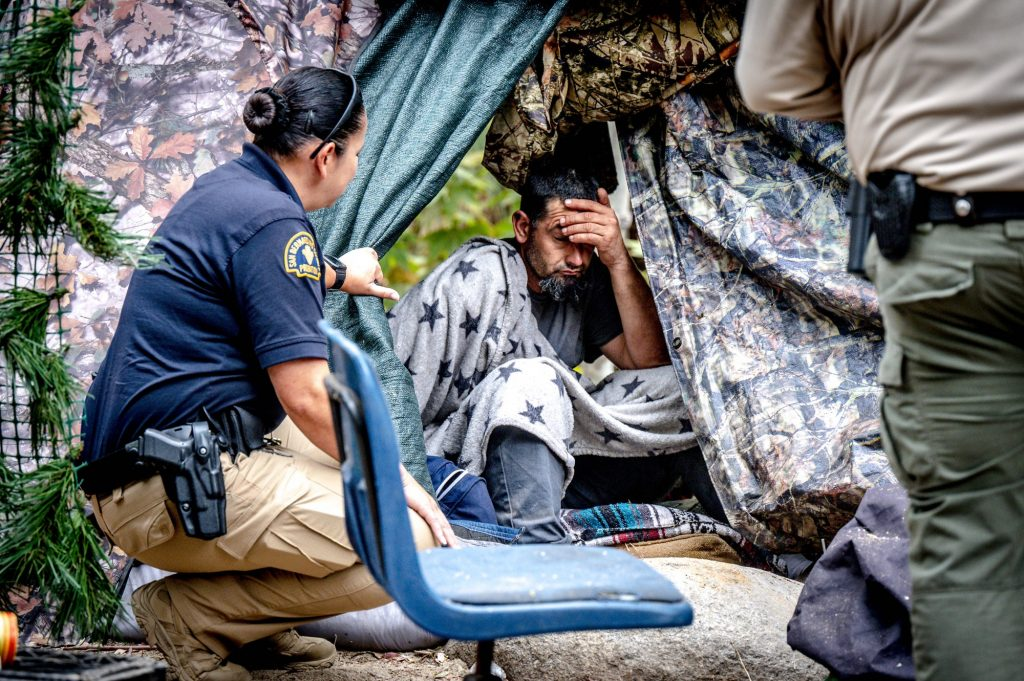 Homeless encampments in San Bernardino County mountains target of new ban