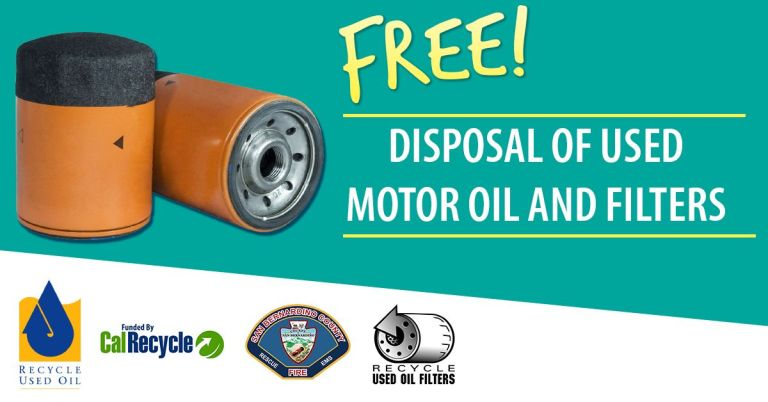 Used Oil Filters Recycle and Exchange Event will be happening in October 2021 at AutoZone.